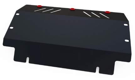 Защита радиатора АвтоБроня для Mitsubishi Pajero II 1991-1999, st 1.8mm, 111.04020.1