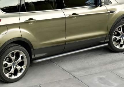 Защита порогов d57 Rival для Ford Kuga II 2013-н.в., нерж. сталь, 2 шт., R.1803.006