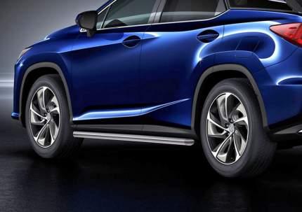 Защита порогов d57 Rival для Lexus RX IV 2015-н.в., нерж. сталь, 2 шт., R.3211.004