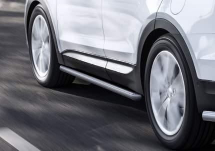 Защита порогов d57 Rival Hyundai Santa Fe III 12-18/Santa Fe Premium III 15-16, R.2306.008