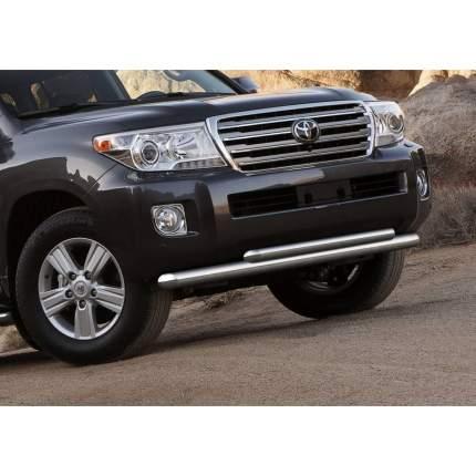 Защита переднего бампера d76+d57 Rival Toyota Land Cruiser 200 рест. 2012-2015, R.5713.004