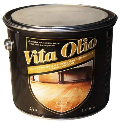 Масло Для полов и мебели Vita Olio Серебристо-серый 10 л. с воском