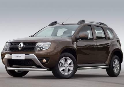 Защита порогов d57 Rival Nissan Terrano III 2014-/Renault Duster 2010-, 2 шт., R.4703.006