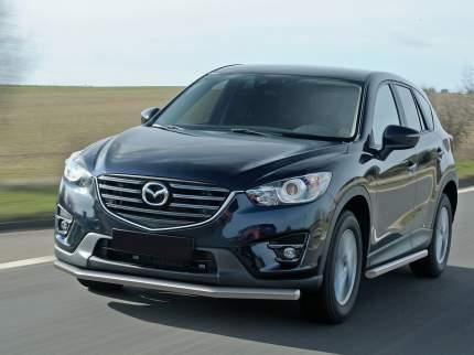 Защита порогов d57 Rival для Mazda CX-5 I 2011-2017, нерж. сталь, 2 шт., R.3803.005