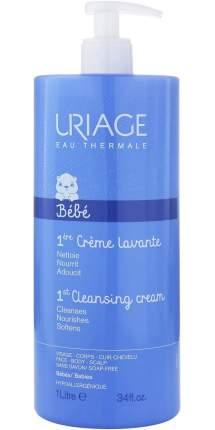 Крем для детей Uriage очищающий пенящийся 1 л