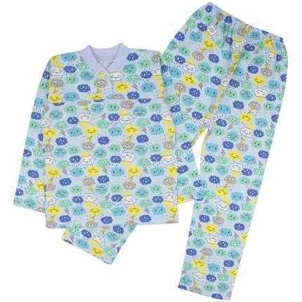 Пижама детская Юлла, цв. голубой р. 92