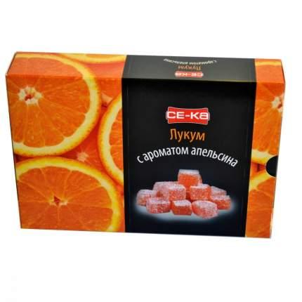 """Лукум Се-ка """"С ароматом апельсина"""", 225 гр"""