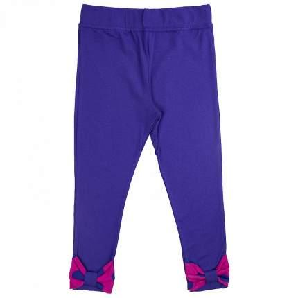 Леггинсы детские Юлла, цв. фиолетовый р. 110