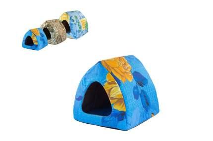 Домик для кошек и собак Дарэлл Чип Вигвам S, в ассортименте, 33x33x30см