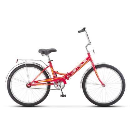 """Велосипед Stels Pilot 710 24 2016 16"""" малиновый"""