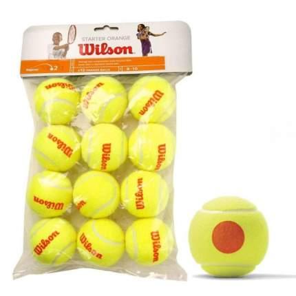 Мяч теннисный Wilson Starter Orange арт.WRT137200 12шт.