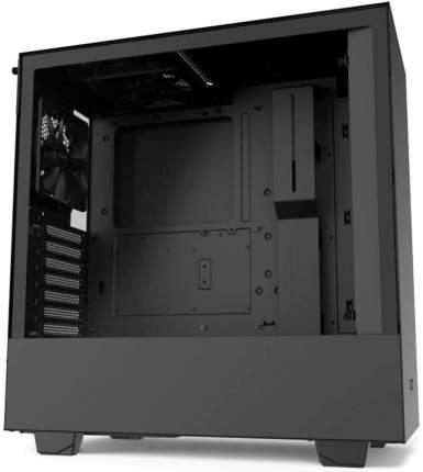 Компьютерный корпус NZXT H510 Compact Mid Tower без БП Black/Black (CA-H510B-B1)