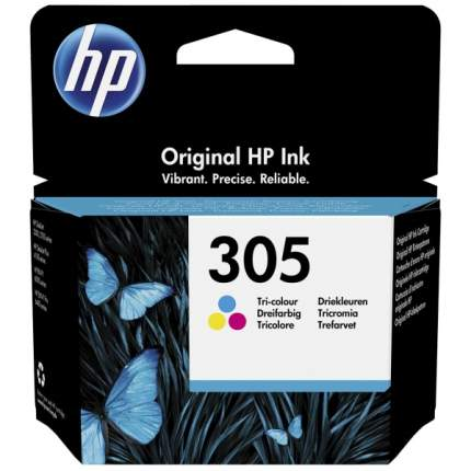 Картридж для струйного принтера HP 305 (3YM60AE) цветной, оригинал