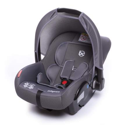 Автолюлька Baby Care Lora цв.серый гр.0+
