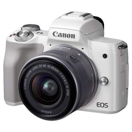 Фотоаппарат системный Canon EOS M50 15-45mm White