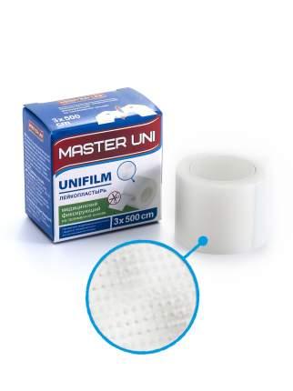 Пластырь Master Uni Unifilm фиксирующий на полимерной основе 3 х 500 см
