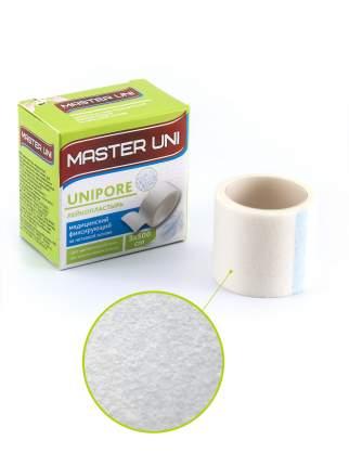 Пластырь Master Uni Unipore фиксирующий на нетканой основе 3 х 500 см