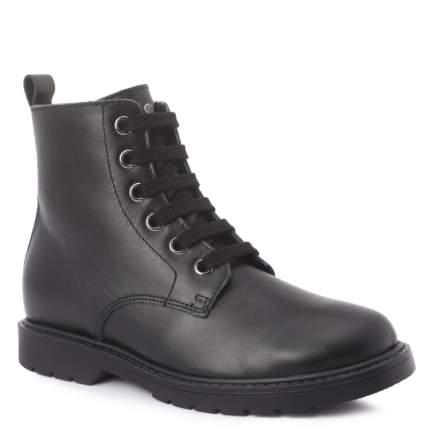 Ботинки для девочек Naturino, цв. черный, р.34