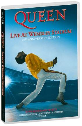 QueenLive At Wembley Stadium (25th Anniversary Edition)(2DVD)