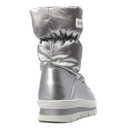 Ботинки для девочек Jog Dog, цв. серебряный, р.34