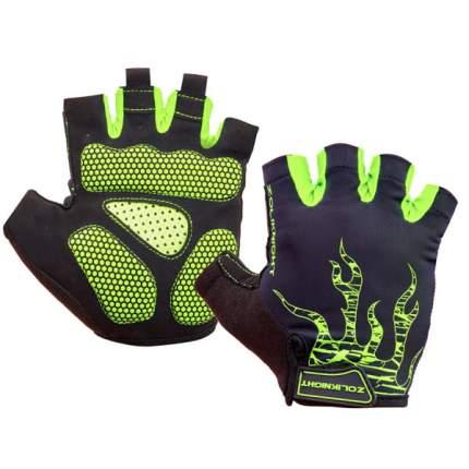 Велоперчатки ZL2313 зелёные L/380180