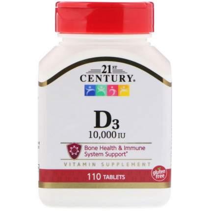 21st Century D3 10000 IU 110 таблеток