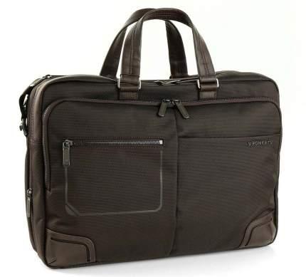 "Сумка для ноутбука Roncato 2151 Wall Street 14"" Laptop Briefcase Brown"