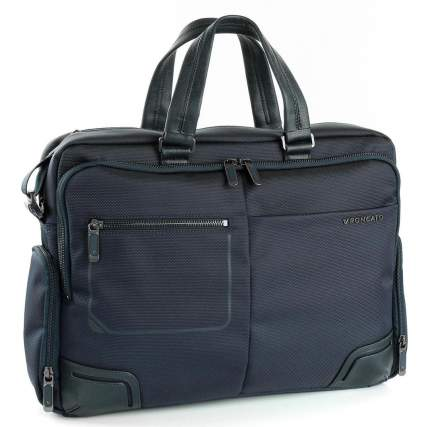 Сумка для ноутбука Roncato 2151 Wall Street 14 Laptop Briefcase Dark blue