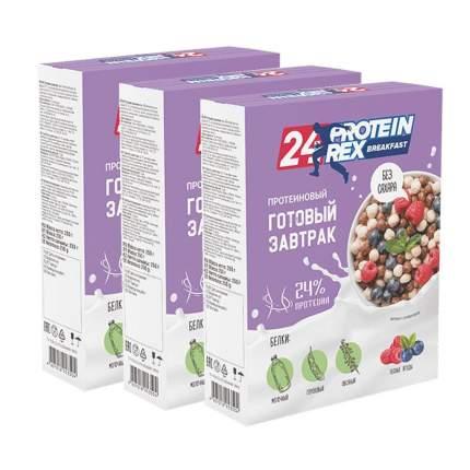 Завтрак ProteinRex готовый с высоким содержанием протеина лесные ягоды 3*250 г