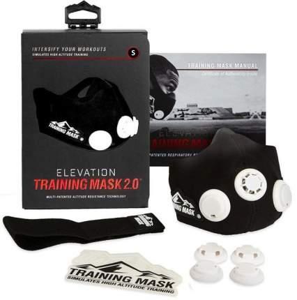 Тренировочная маска Elevation Training Mask 2.0 черный S