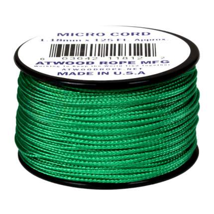 Паракорд AtwoodRope 1.18мм x 125' Micro Cord 38м (Green)