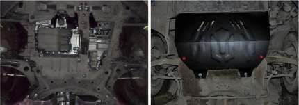 Защита картера и КПП АвтоБроня для Peugeot 307 2001-2008, st 1.8mm, 111.04304.1