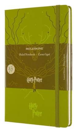 """Блокнот """"Le Harry Potter"""" Large, 96 листов, в линейку, светло-зеленый"""