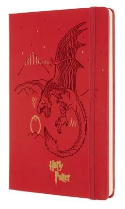 """Блокнот """"Le Harry Potter"""", 96 листов, в линейку, красный"""