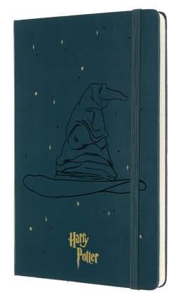 """Блокнот """"Le Harry Potter"""" Large, 96 листов, в линейку, темно-зеленый"""