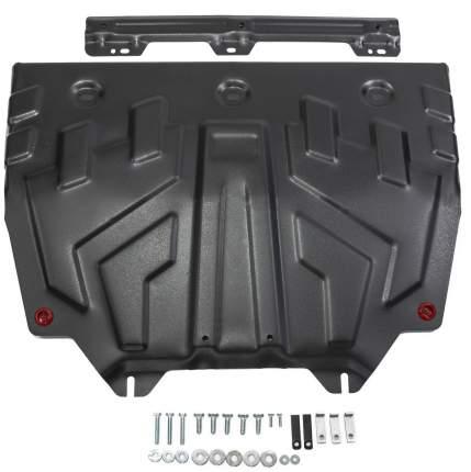 Защита картера и КПП АвтоБроня big Mazda 3 13-18/6 12-/CX-5 11-/CX-9 16-, 111.03817.1