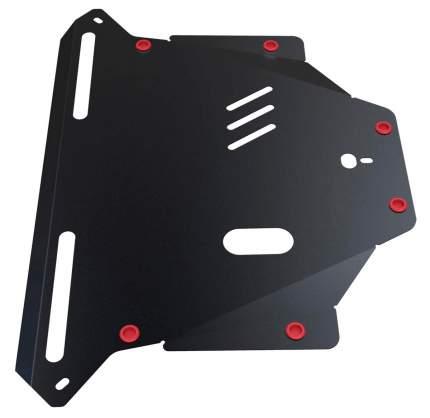 Защита картера и КПП АвтоБроня для Honda CR-V II 2001-2006, st 1.8mm, 111.02110.1