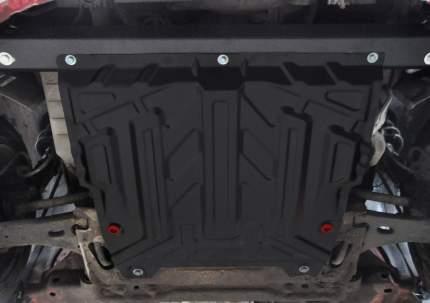 Защита картера и КПП АвтоБроня Ford Fiesta V 02-08/Fusion 02-12, st 1.5mm, 111.01806.3