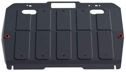 Защита картера и КПП АвтоБроня для Mazda 6 II GH 2007-2012, st 1.8mm, 111.03805.2