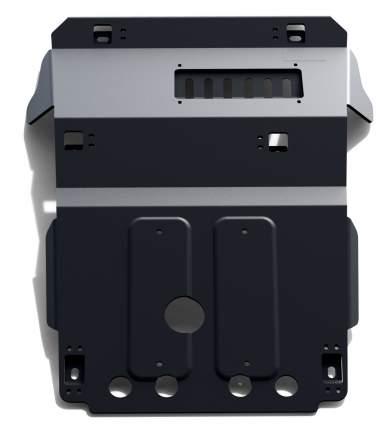 Защита картера АвтоБроня Toyota LC Prado 120 2002-2009, st 1.8mm, без крепежа, 1.05731.1