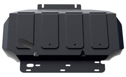 Защита картера АвтоБроня Nissan Navara D40 2004-2015/Pathfinder R51 2004-2014, 111.04105.2