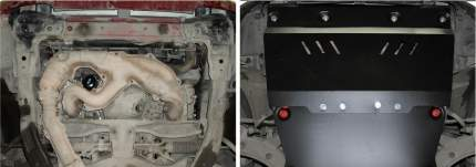 Защита картера АвтоБроня для Subaru Forester II 2002-2008, st 1.8mm, 111.05415.1