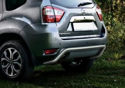 Защита заднего бампера d57 скоба Rival Nissan Terrano III 2014-н.в., R.4119.004