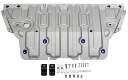 Защита картера Rival Audi A4 B9 АКПП 2015-/A5 8W АКПП 4WD 2016-, al 3mm, 333.0334.1