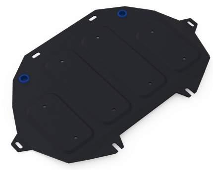 Защита картера Rival ч.2 Genesis G80/G90 4WD 16-/Hyundai Genesis 4WD 14-17, 111.2354.1