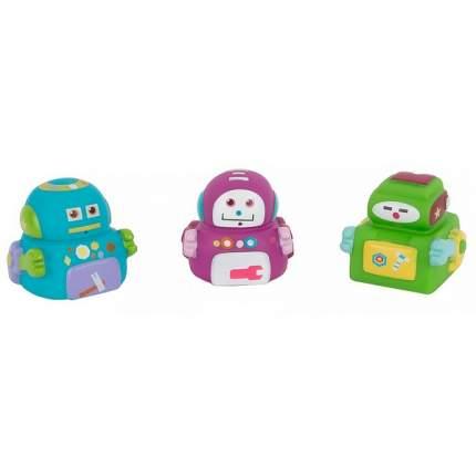 Набор игрушек для купания Пома Роботехника, 3 шт.