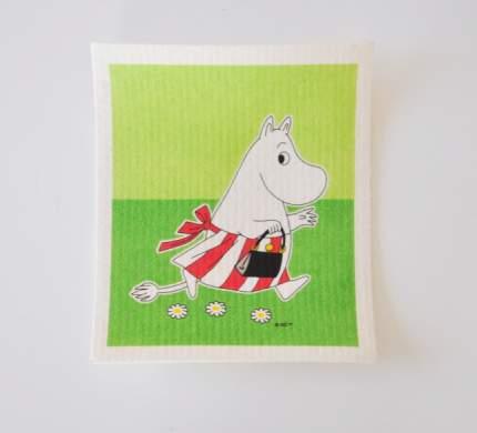 Кухонная салфетка Moomin Муми Мама green
