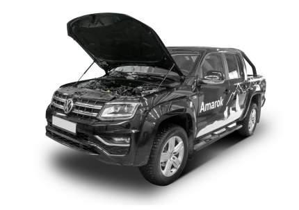 Упоры капота АвтоУПОР для Volkswagen Amarok V-2.0 2010-2017, 2 шт., UVWAMA011