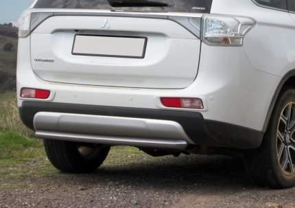 Защита заднего бампера d57 Rival Mitsubishi Outlander III 2014-2015, R.4009.006