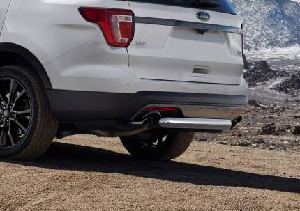 Защита заднего бампера d76 Rival Ford Explorer V (без Hands-free) 2015-2019, R.1806.004